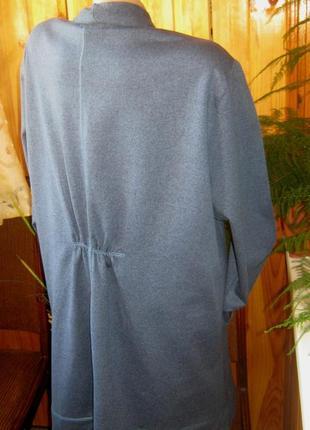 Стильный джерси кардиган модного кроя от tchibo, германия - р. 56-58 укр.8