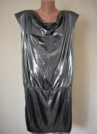 Новое красивое блестящее платье