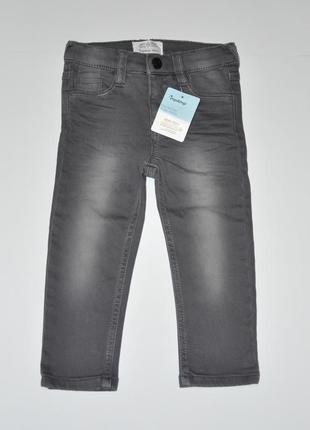 Детские серые джинсы impidimpi на рост 86-92
