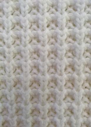 Вязанный удлиненный свитер6