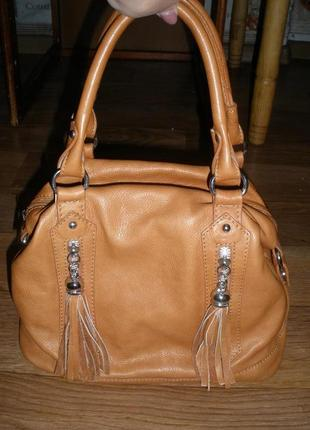 9da1fb8689c8 Итальянская женская сумка genuine leather borse in pelle!100% кожа ...