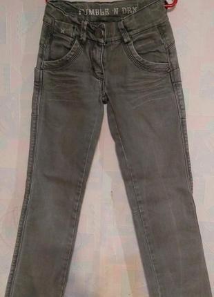 Серые джинсы tumble n dry