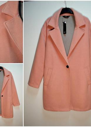 Демисезонное модное пальто оверсайз