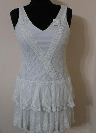 Сукня мереживна promod