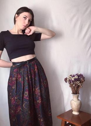 Юбка макси в пол, длинная юбка