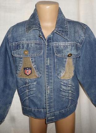 Джинсовая курточка на 6-7 лет