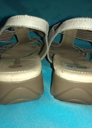 Новые кожаные босоножки remonte р 37 швейцария2
