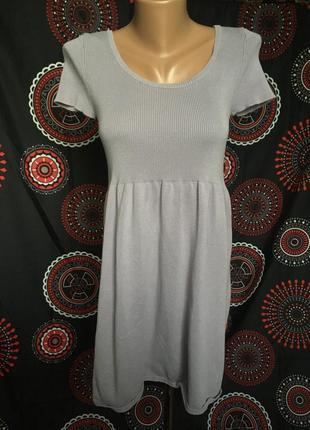 Трикотажное платье 46-48 р