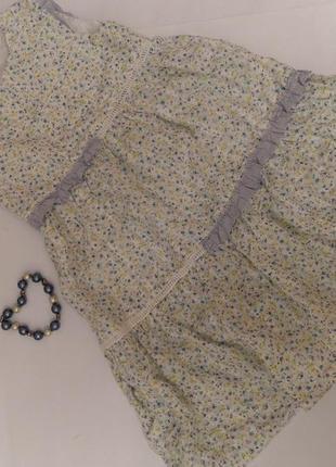 Лёгкое платье coccoli на 3 года, рост 98 см