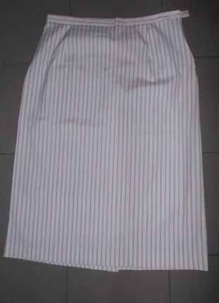 Новая миди юбка в полоску