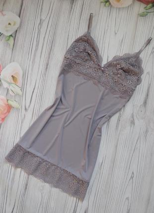 Чудесная,  милая ночнушка, обалденного цвета от love to lounge.  размер м-l.