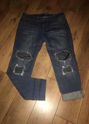 Классные джинсы бойфренды низкой посадки