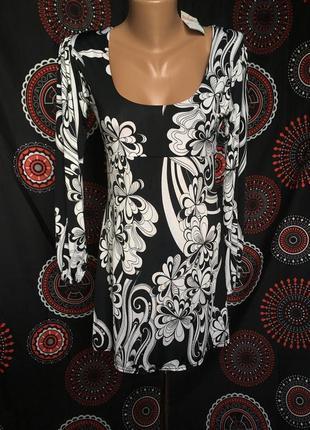 Красивое платье на длинный рукав 48 р