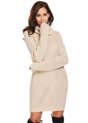 Стильное платье -свитер 48 размер
