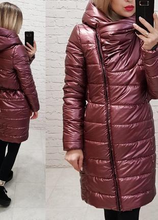Куртка демисезонная теплая. есть батал большие размеры до 58. силикон 200