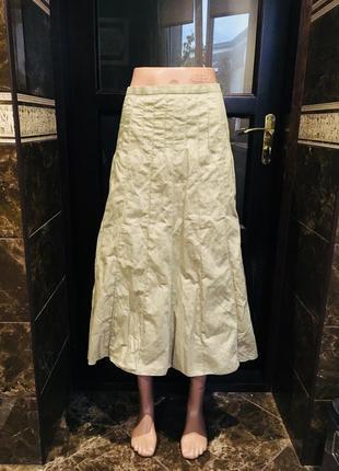 Светлая красивая юбка как новая 48 р1