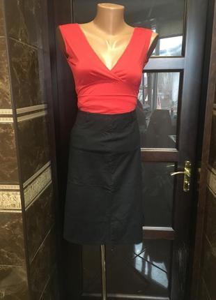 Короткая юбка с клином 50 р