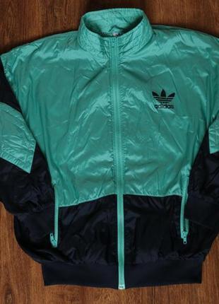 Мужская винтажная олимпийка adidas originals track top jacket