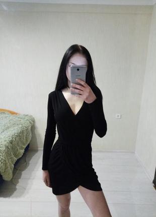 Черное платье от topshop🖤