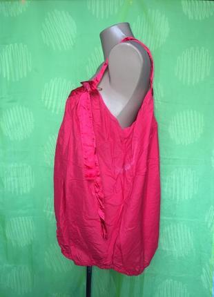 Блуза на бретелях с резинкой 54 р3