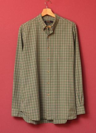 Polo ralph lauren рр l рубашка 120 poplin оригинал свежие коллекции