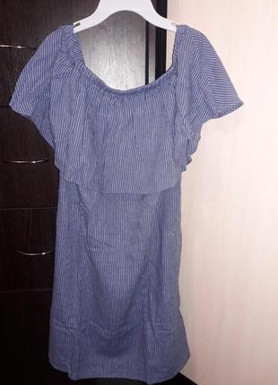 Шикарное ультрамодное платье old navy. сша. лен. р м