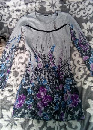 Дуже тепла м'якенька сукня платье.