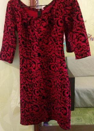Червона сукня, платье