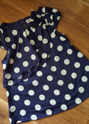 Нарядная блузка h&m 7-8 лет
