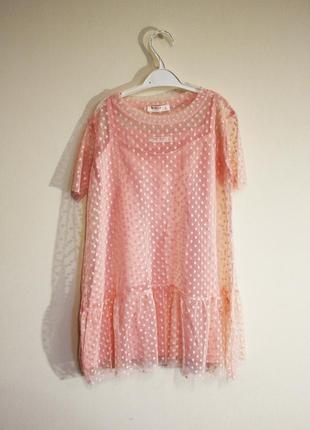 1a1f33e13c3 Крутое летнее платье в горошек