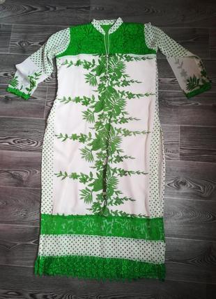 Платье длинное восточный стиль