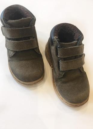 Ботинки для мальчика 26 р. весна-осень.