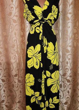 Красивое длинное женское платье, сарафан debenhams collection
