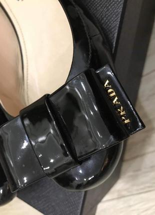 Туфли мешти prada