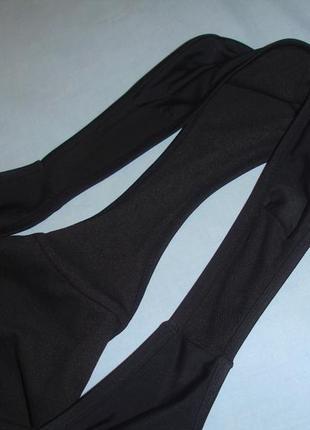 Низ от купальника раздельного трусики женские плавки размер 48-50 / 14 черные7 фото