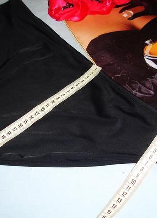 Низ от купальника раздельного трусики женские плавки размер 48-50 / 14 черные8 фото