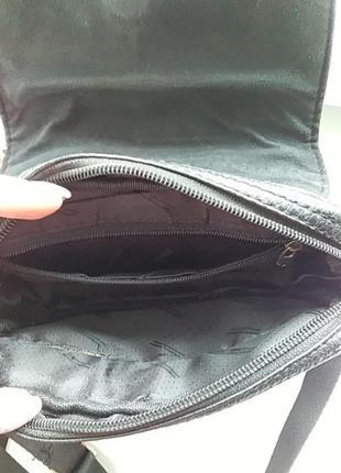 Мужская сумочка барсетка на длиной ручке3 фото