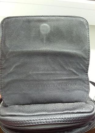 Мужская сумочка барсетка на длиной ручке4 фото