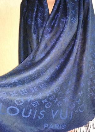 Louis vuitton классный кашемировый шарф палантин