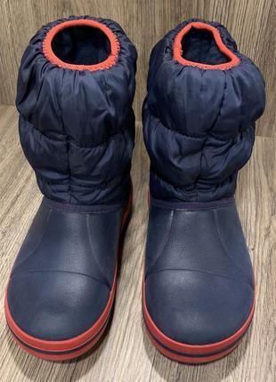 Зимние сапоги крокс crocs оригинал3 фото