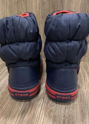 Зимние сапоги крокс crocs оригинал4 фото