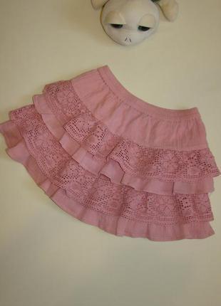 Пышная нарядная юбка f&f 3-5 лет