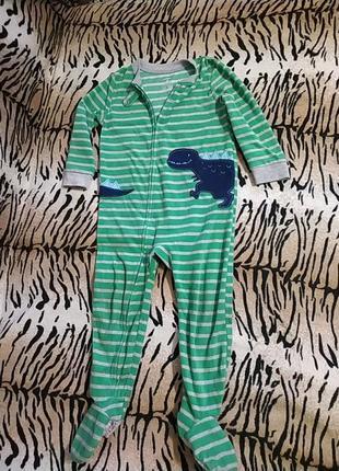 Человечек пижама carter's 3t
