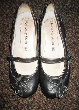Туфли, балетки фирмы next, 39 размер, европейский uk 6, стелька 25,5 см