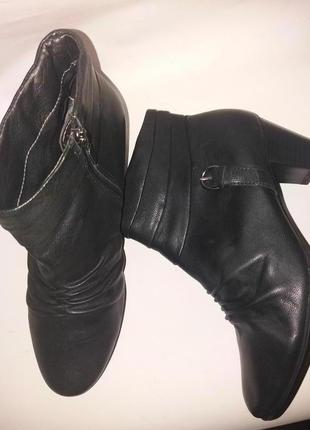 Ботинки демисезонные footglove m&s р.6 нат кожа