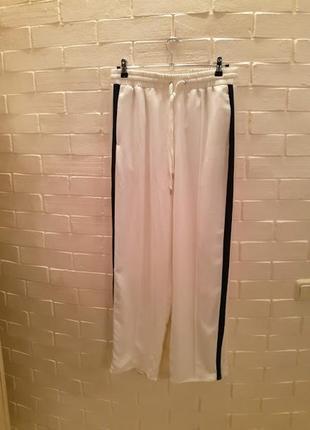 Широкие брюки h&m 44(l) 420479