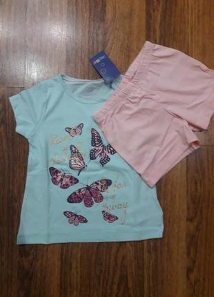 Пижама для девочки lupilu2