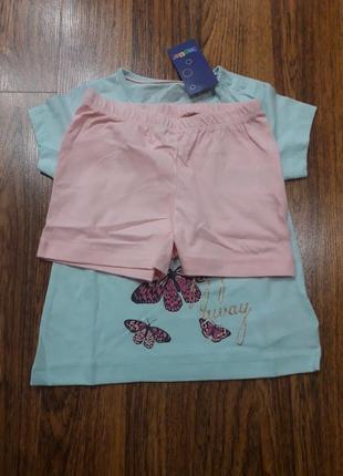 Пижама для девочки lupilu3