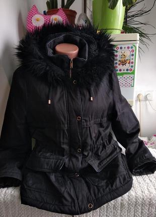Куртка-парка,парка теплая на меху✓