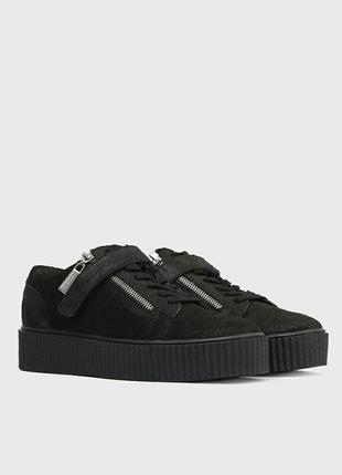 Стильные фирменные кроссовки криперы размер 37